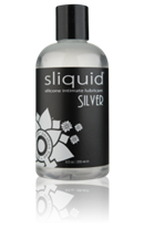 Sliquid Silver - Silver is a premium silicone based personal lubricant.