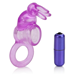 California Exotic Basic Essentials Triple Tickler Vibrating Dual Enhancer - Dual support erection enhancement ring.
