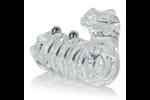 California Exotic Jaguar Enhancer with Beads - Erection enhancement ring.