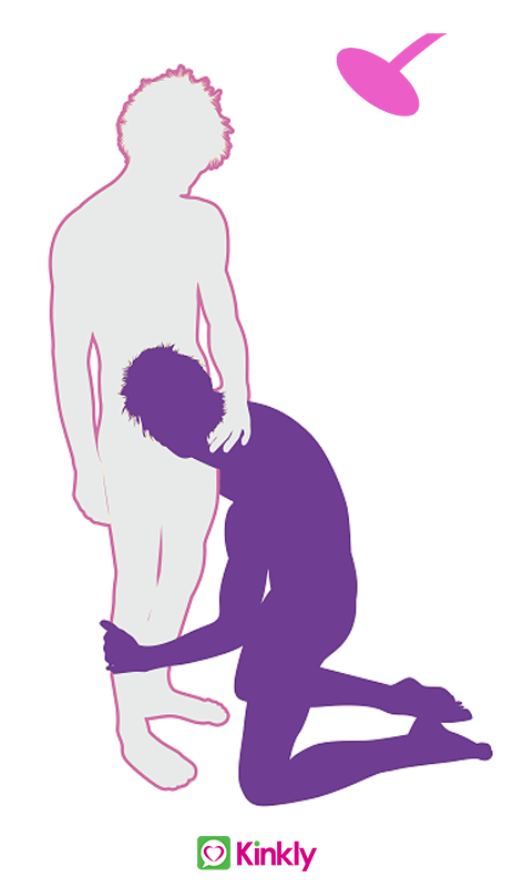 Middle Stump Oral Sex Shower Position