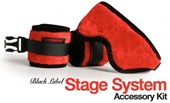 Liberator Cuff Kit for Black Label Stage System - A complete cuff kit to suit varying ankle and wrist sizes