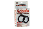 California Exotic Adonis Leather Collection Helios - Dual support erection enhancement harness.
