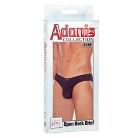 California Exotic Adonis Open Back Brief - L/XL - Mens sensual attire.