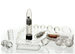 Nasstoys Clear Carnal Collection - A nine piece sex toy collection.