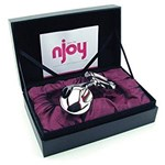 nJoy Pure Plug 2.0 - A Pure Plug that delivers more size, weight and nJoy style.