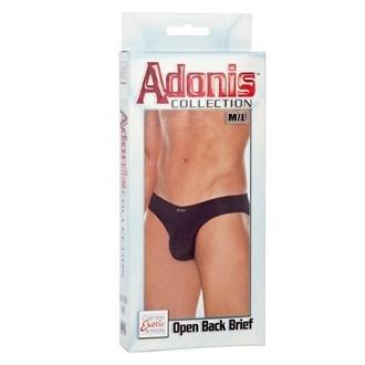 California Exotic Adonis Open Back Brief - M/L - Mens sensual attire.