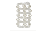 California Exotic Basic Essentials Pearl Stroker Beads Large - Enhancement beads.
