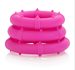 California Exotic Posh Silicone Love Rings - Set of erection enhancement rings.