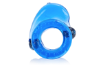 California Exotic Magnetic Power Ring Dolphin Rider Double Ring - Erection enhancement ring with magnets.