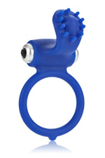 California Exotic Body & Soul Infatuation Cock Ring - Vibrating silicone cock ring for couples.