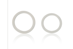 California Exotic Silicone Rings Set Large and X-Large - Large and X-Large multi-functional enhancer rings.
