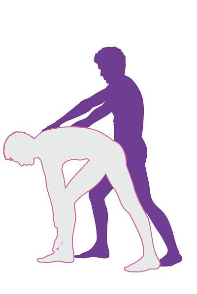 Drag Back Sex Position