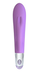 Mae B Lovely Vibes Rabbit Twin Vibrator - A sculpted, smooth, rabbit-style vibrator for women.
