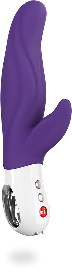 Fun Factory Lady Bi - A carefully shaped rabbit-style vibrator with extra length and girth.