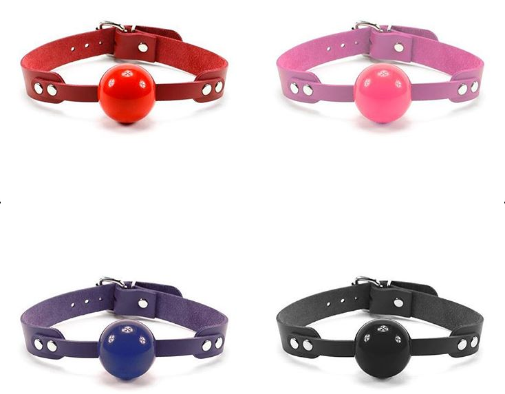Oddo Leather Ball Gags