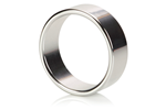 California Exotic Alloy Metallic Ring Large - Erection enhancement ring.