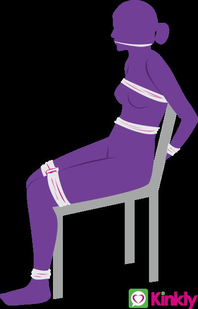 Bondage Chair Sex Position
