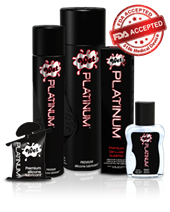Wet Lubricants - PLATINUM - A long-lasting lubricant guaranteed never to be sticky.