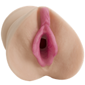 Doc Johnson Sasha Grey UR3 Cream Pie Pocket Pussy - A realistic stroker designed to resemble Sasha Grey's pussy.