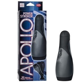 California Exotic  Apollo Power Stroker - Self-contained power stroker with removable suction cup base.