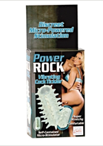 California Exotic Power Rock Vibrating Cock Tickler - Vibrating erection enhancement sleeve.