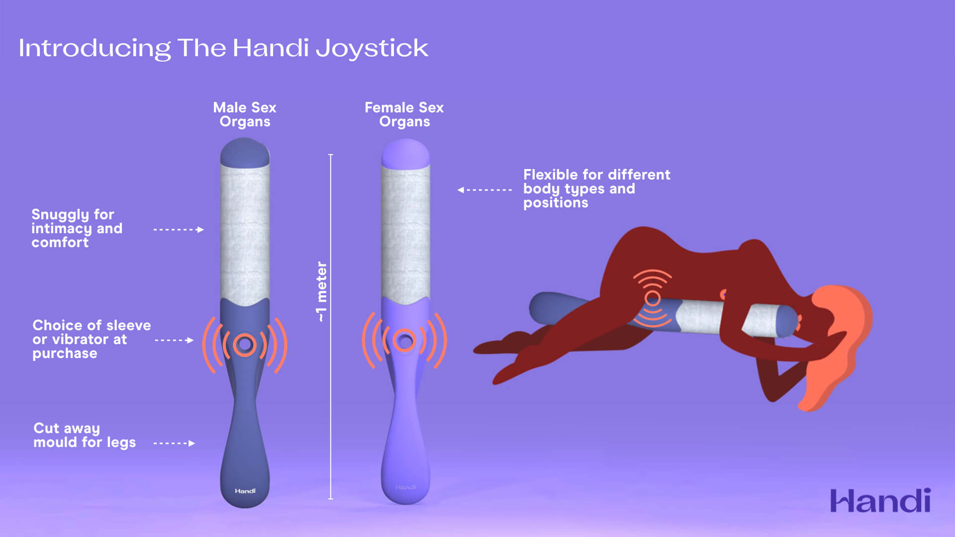 Handi Joystick sex toy for disabled people