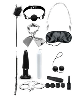 Pipedream Products Fetish Fantasy Series Limited Edition Ultimate Bondage Kit - Collection of fetish accessories.