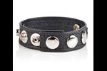 California Exotic COLT Adjustable 5 Snap Leather Strap - Adjustable erection enhancement ring.