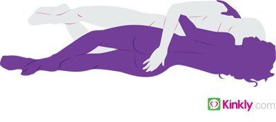 diagram of the facing spoon sex position