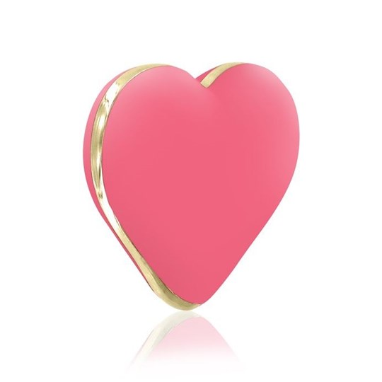 Rianne S Heart Vibe - A playful heart-shaped vibe that still performs.