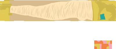 Mummification Bondage Position. Person immobilized in full body bondage, gagged.