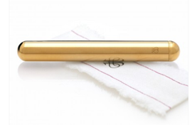 Jimmyjane LITTLE GOLD - A sleek, powerful metal bullet with a replaceable engine - in 24K gold.