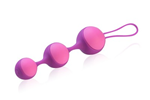 Jopen Key  Stella III - Smooth, weighted Kegel balls wrapped in body-safe silicone.