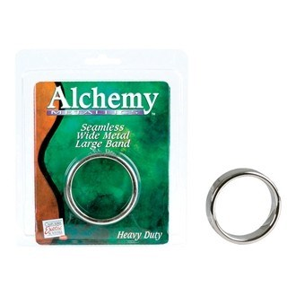 California Exotic Alchemy Metallics - Metal Band - Large - Erection enhancement ring.