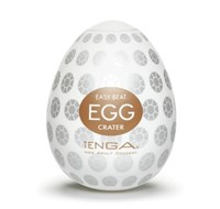 TENGA EGG CRATER - A soft, pliable male pleasure sleeve that is uniquely packaged in an egg.