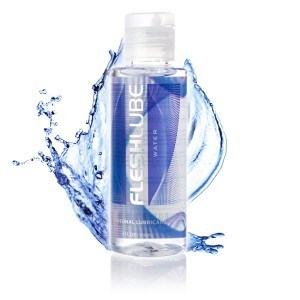 Fleshlight Fleshlube Water - A simple, silky-smooth water-based lubricant.