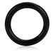 California Exotic Rubber Ring Black Medium - Rubber adornment rings.