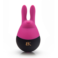 Bedroom Kandi Hip Hop - An adorable clitoral vibator with two stimulating bunny ears.