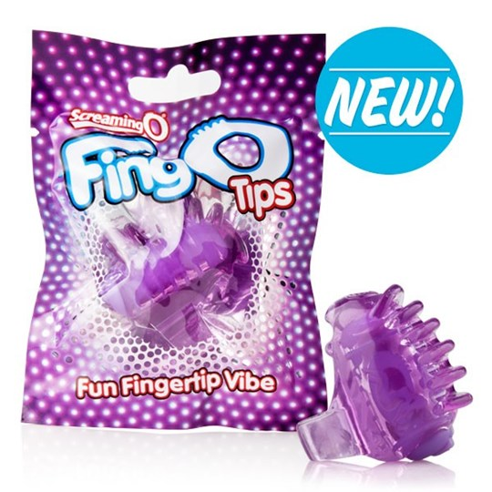 Screaming O FingO Tips - Small, discreet and disposable finger vibrators.