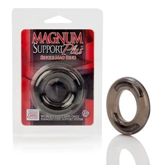 California Exotic Magnum Support Plus Single Mag Ring - Erection enhancement ring.