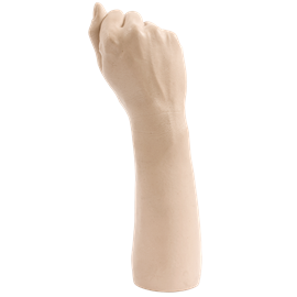 Doc Johnson Belladonna's - Bitch Fist - A detailed fist-shaped toy molded after Belladonna