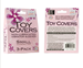 California Exotic Toy Covers 3-Pack Small - Sanitary vibrator cover sleeves.