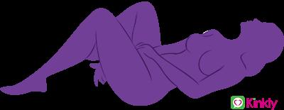 legs up masturbation sex position