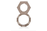 California Exotic Screw Me Figure 8 Ring - Dual support erection enhancement ring.