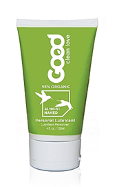 Good Clean Love Almost Naked Organic Personal Lubricant - A barely-there personal lubricant, infused with a touch of lemon and vanilla.