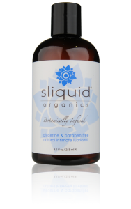 Sliquid Organics Natural Gel - A thick, luxurious lubricant gel made from natural ingredients.