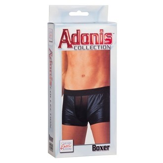 California Exotic Adonis Mens Wet Look - Boxer - Mens sensual attire.