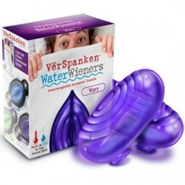 Big Teaze Toys WaterWieners: Wavy - A thrilling insert for Big Teaze's VerSpanken male masturbator with warm or cold options.