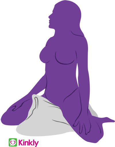 Pillow masturbation position