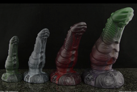 Ridley the Xenogon - Ridley the Xenogon is a dildo produced by Bad Dragon.